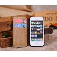 Buy cheap Fashion waterproof Vertical Genuine Leather Mobile Phone Cases For smartphone from wholesalers