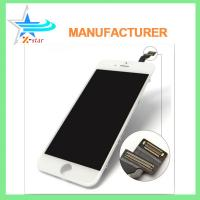 Buy cheap White / Black iPhone LCD Screen Replacement , Capacitive iPhone 6 LCD Screen Assembly from wholesalers