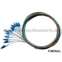 Buy cheap 12 Fiber Bundle Fiber Optic Pigtail / LC Pigtail Multimode For Data Communication Network from wholesalers