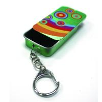 Buy cheap Slider Mint Tin With Key Ring product