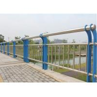 Buy cheap Composite Pipe Bridge Steel Mesh Fencing Round Post Abrasion Resist For Highway from wholesalers