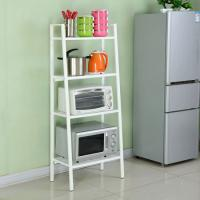 Buy cheap Four Layers Home Wire Shelving For Collection  , Black Or White Metal Iron Boltless Shelving from wholesalers