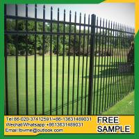 Buy cheap St.Petersburg black fence Goodland black wrought iron fencing from wholesalers