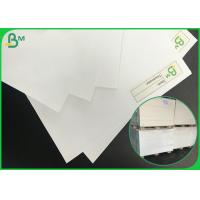 Buy cheap FSC certificate virgin wood pulp offset paper / white bond paper from wholesalers
