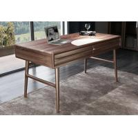 Buy cheap American Dark Walnut Wood Furniture Nordic design of Writing Desk Reading table from wholesalers