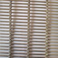 China Stainless Steel 316 Architectural Wire Mesh Panels For Blind Metal Drapery Wall on sale