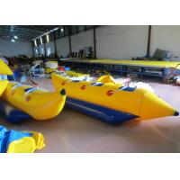 Buy cheap Inflatable Water Banana Boat Towables for water park Small Blow Up Banana Boat Water Toy for children from wholesalers