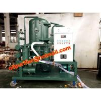Buy cheap High voltage transformer oil filtration plant factory price , high vacuum oil distillation, oil reprocessing machine from wholesalers