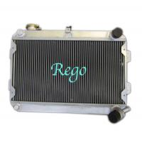 China 3 Row 56mm racing car Aluminum Radiator for MAZDA RX7 S1 / S2 MANUAL on sale