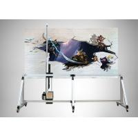 Buy cheap Speed Adjustable Wall Sticker Machine High Precision Wireless Touching Screen Operation from wholesalers