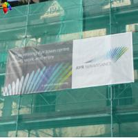 Buy cheap polyester mesh fabric banner printing from wholesalers