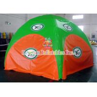 Buy cheap Digital painting 4 Legs Inflatable Spider Beach Tent / Opening Inflatable Sun Shade from wholesalers