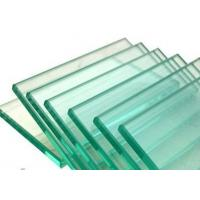 Buy cheap 3mm / 4mm Transparent Toughened Flat Tempered Glass Cabinet Decorative Glass from wholesalers