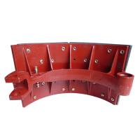 Buy cheap Steady Friction Performance Ductile Cast Iron Casting Brake Shoe Assembly Heavy Truck Parts from wholesalers