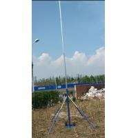 Buy cheap antena TV antenna mast 3--15m telescopic mast  aluminum sectional pole hand push erected and winch up from wholesalers