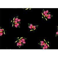 Buy cheap Printed Flower Patterned Velvet Fabric Lightweight Thick Velvet Fabric from wholesalers