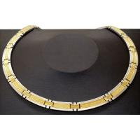 Buy cheap Fashion mangnet, anion, far infrared, germanium stainless steel chain necklace from wholesalers