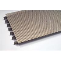 Buy cheap SS Metal Johnson Wedge Wire Screen Vee Wire Screen Flat Panel High Strengh from wholesalers
