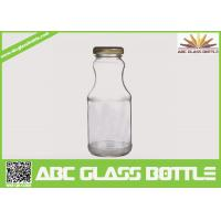Buy cheap Hot sale 6oz glass bottle for juice with twist off metal cap from wholesalers