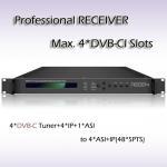 Buy cheap RSR1114 Digital TV DVB-T2 Demodulator  professional IRD Digital TV IPTV Headend 4*DVB-T2 Input 48*SPTS UDP/IP Output from wholesalers