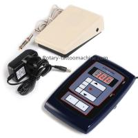 Buy cheap LCD Digital Tattoo Power Supply Connected With 2 Tattoo Machines Foot Pedal Clip Cord Kit from wholesalers