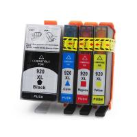 Buy cheap HP Compatible Printer Ink Cartridges , Cyan / Yellow Ink Print Cartridges from wholesalers