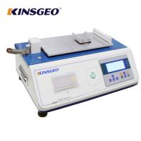 Buy cheap Static and Kinetic Coefficient Of Friction Tester for Flexible Package Industry With 12 Months Warranty from wholesalers