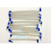 Buy cheap Stop - Dropping Plastic Coiled Security Tethers Translucent 15 CM Wire Ropes from wholesalers