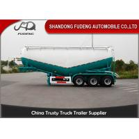 Buy cheap 3 Axles Cement Semi Trailer , powder tank trailer , Dry Bulk Tank Trailers For Sale Dubai from wholesalers