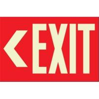 Buy cheap Photoluminescent emergency exit sign,lighted exit sign,warning signs from wholesalers