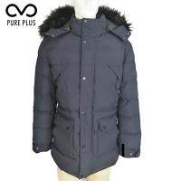Buy cheap Outside Mens Padded Jacket , Mens Black Padded Jacket Limited Exposure from wholesalers