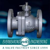 Buy cheap DIN3357 Hand-lever PN16 2-pc Cast Iron Ball Valve With Floating Ball from wholesalers