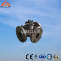 Buy cheap Steam Jacketed L Port Three Way Ball Valve (GABQ44F) from wholesalers