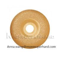 Buy cheap Vacuum Brazed Diamond Grinding Disc For Grinding Marble, Ceramic Materials product