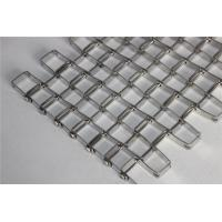 Buy cheap Honeycomb Flat Wire Mesh Conveyor Belt , Chain Link Conveyor Belt Customized from wholesalers