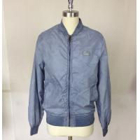 Buy cheap Nylon / Cotton Men Spring Jackets  with Garment Dirty Dyeing product
