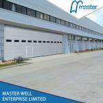 Buy cheap Steel sectional door for industrial use/Industrial door with window from wholesalers