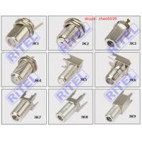 Buy cheap CATV high quality F type female Jack and plug, bulkhead for panel or PCB for TVC/COMCAST/PPC from wholesalers