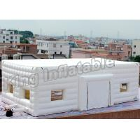 Buy cheap Double Layer Inflatable Event Tent Wedding Cube Tent With White Or Pink Color from wholesalers