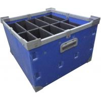 Buy cheap Waterproof pp correx plastic black folding stackable moving boxes from wholesalers