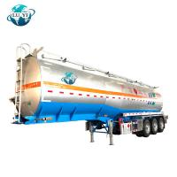 Buy cheap 3 axles alcohol chemical Fuel Tank Semi Trailer for Liquid Cargo transport from wholesalers