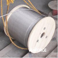 Buy cheap 7x19 Construction Stainless Steel Wire Rope Pressure Resistance Extremely Flexible from wholesalers