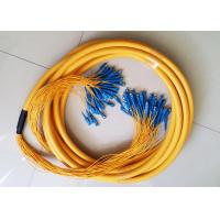 Buy cheap Breakout cable 24 Core SM SC-LC Pre Terminated cable Strip on 0.9mm/2.0mm from wholesalers