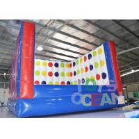 Buy cheap Popular Inflatable Sport Games 3D Twister Mat Interactive Game Twister Board from wholesalers