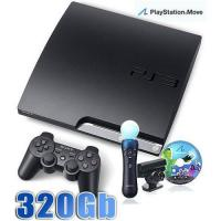 Buy cheap Sony PlayStation 3 PS3 Slim 320 GB Charcoal Black Console from wholesalers