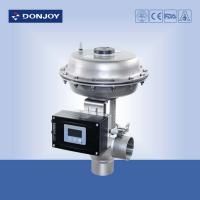 Buy cheap Pressure Regulating Valve with square positioner for regulating fluid from wholesalers
