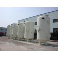 Buy cheap Custom Vertical Vacuum Receiver Tank , Stainless Steel Vacuum Storage Tanks product