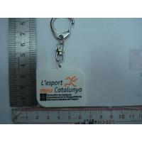 Buy cheap Harmless 2D 3D Soft Custom PVC Keychains With Any Pantone Colors from wholesalers
