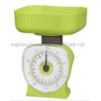 Buy cheap GREEN color dial kitchen food scale from wholesalers