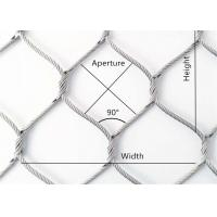 Buy cheap Stainless steel cable woven mesh (stainless steel sleeveless wire rope mesh) from wholesalers